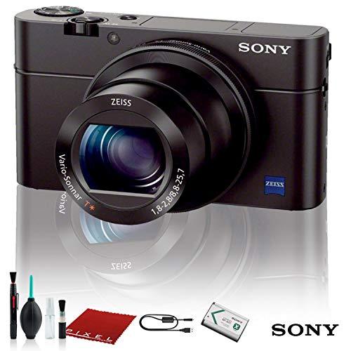 Sony Cyber-Shot DSC-RX100 IV Digital Camera (DSCRX100M4/B) Base Bundle