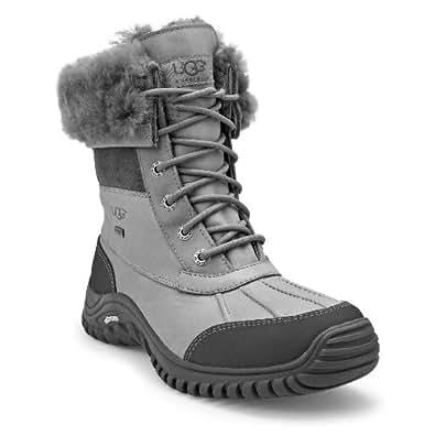 Amazon Com Ugg Women S Adirondack Ll Boots Grey 8 5