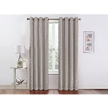 Amazon.com: GoodGram 2 Pack Sparkle Chic Thermal Blackout Curtain ...