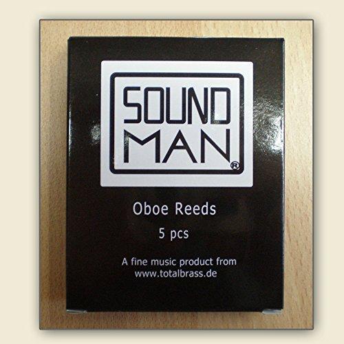 Soundman SOR-600-5 Ca/ñas para Oboe media estilo Europeo