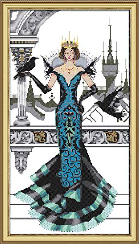 CaptainCrafts New Counted Cross Stitch Kit Embroidery Starte