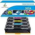 True Image Compatible for HP 202X CF500X CF500A 202A HP M281fdw M254dw Toner Cartridge for HP Color Laserjet Pro MFP M281fdw M281cdw M254dw M254dn M254nw M280 M281 CF500X CF501X CF502X CF503X Printer