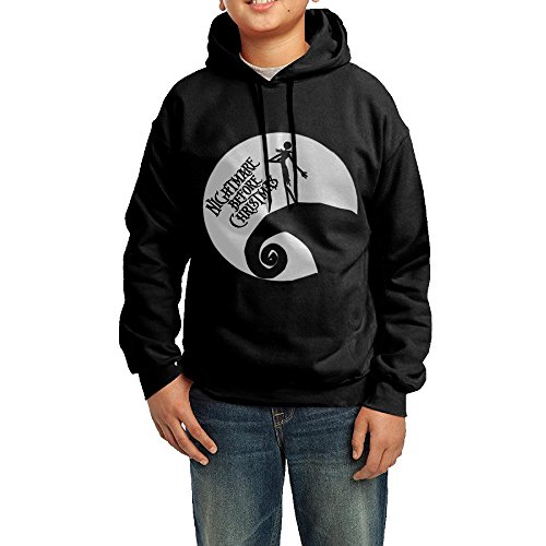GGDD Teenager Unisex The Movie Poster Girl In Moon B-boy Cool Hoodie Sweatshirt Leisure Style XL (Joker Jack Child Costume)