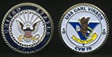 USS Carl Vinson CVN 70 (Enlisted) Challenge Coin