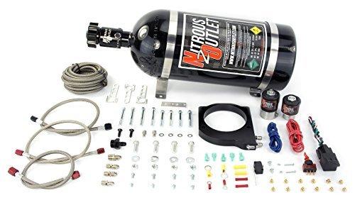 (Nitrous Outlet 102mm LSX Plate System (10lb Bottle))
