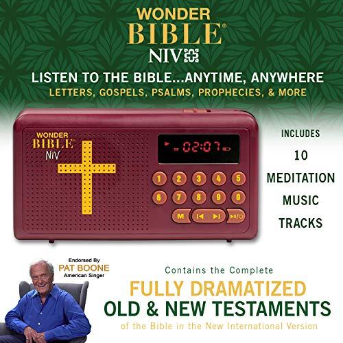 WONDER BIBLE NIV- The Audio Bible Player That Speaks, New International Version, as Seen On TV by WONDER BIBLE (Image #1)