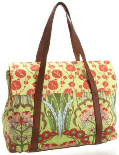 Amy Butler Harmony Laptop Tote,Fuschia Tree Tomato,one size by Amy Butler