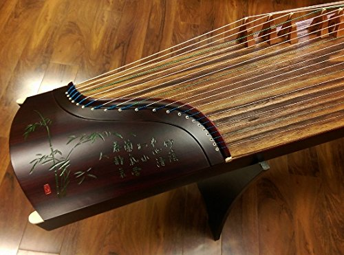 Sound of China Rosewood Guzheng with Chinese