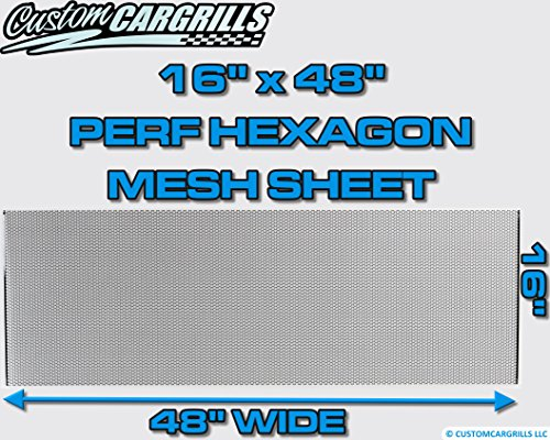 Review CCG 16″x48″ Perforated Hex