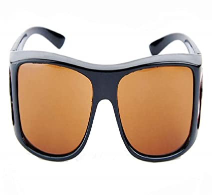 7655e18d5ec Image Unavailable. Image not available for. Color  FASH Limited HD Vision  Wrap Around Sunglasses