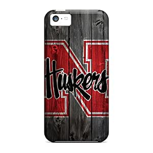 LJF phone case Fyopqzf6127UgvXL Anti-scratch Case Cover Mialisabblake Protective Huskers Case For Iphone 5c