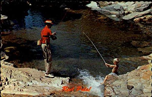 Reel Pals! Edmundston, New Brunswick Canada Original Vintage Postcard ()