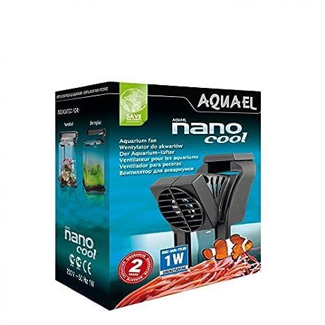 aquael Nano Cool Acuario ventilador enfriador Acuario Acuario ventilador ventilador para platillos Gamba: Amazon.es: Productos para mascotas