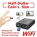 ZTour Smallest WiFi Spy Hidden Cameras,Mini Indoor HD Wireless Camcorder IP P2P Covert Nanny Home Car Security Surveillance System Video Recorder with Motion Detection,Night Vision for iOS/Android, PC