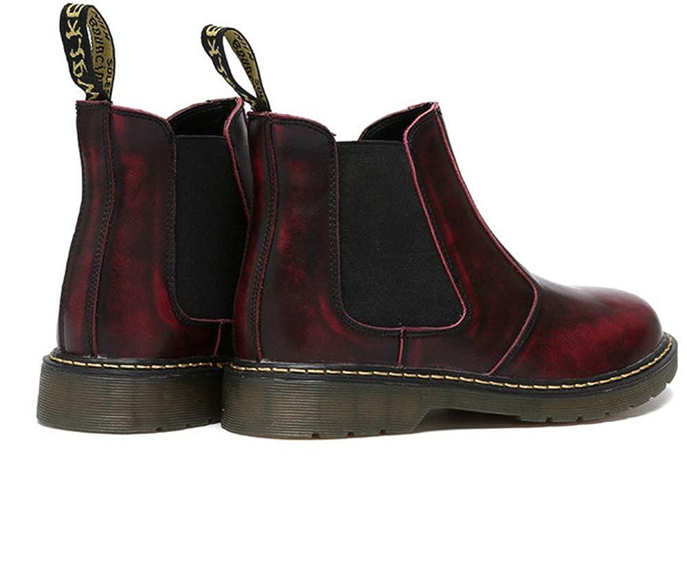 Anti-Slip Unisex Elastic Waterproof Slip On Short Causal Boots Chelsea Booties