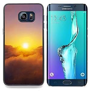 "For Samsung Galaxy S6 Edge Plus / S6 Edge+ G928 , S-type Sunset Beautiful Nature 28"" - Arte & diseño plástico duro Fundas Cover Cubre Hard Case Cover"