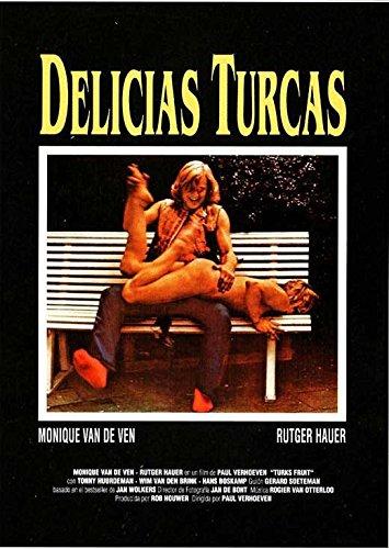 Monique Van (Turkish Delight Poster Movie Spanish 11 x 17 Inches - 28cm x 44cm Monique Van De Ven Rutger Hauer Tonny Huurdeman Wim Van Den Brink)