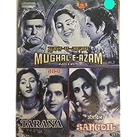 Mughal-E-Azam / Tarana / Sangdil (dvd)