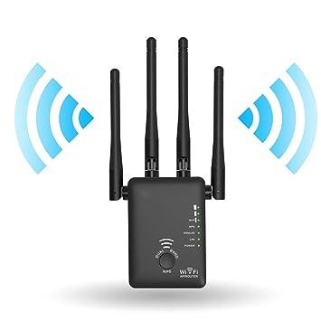 XAJGW AC1200 WiFi Repetidor/Enrutador / Punto de Acceso Amplificador de señal WiFi con Amplificador