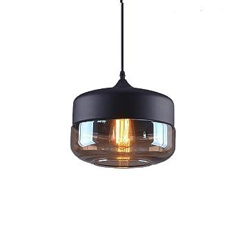 Weare Home Retro Platt Durchsichtiger Glas Lampenschirm