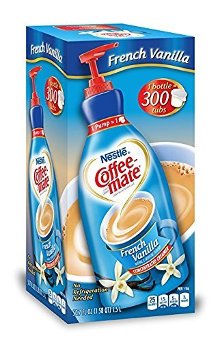 UPC 689016172224, NESTLE COFFEE-MATE Coffee Creamer, French Vanilla, 1.5L liquid pump bottle, Great Size (Pack of 2 )