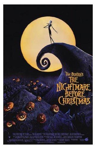 Poster Print Nightmare Before Christmas