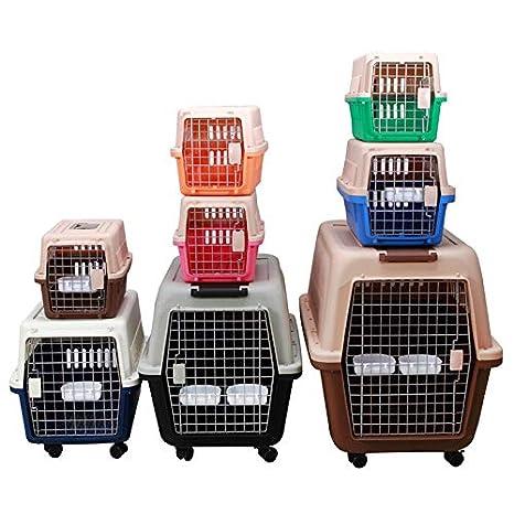 fr4tv Mascotas Caja de Aire Gato Perro Suministros Maleta plástico ...