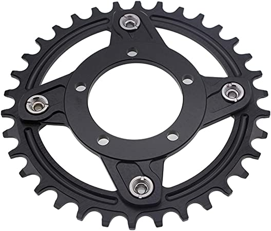 Fauge 130 Bcd Chainring Spider Adaptor Gearing for Bafang G320 Bbs03B Bbshd Mid-Drive Motor Electric Bike Conversion Kits