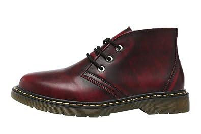 Retro Leder Vintage Warm Short Herren Brinny Fashion Boots zVqSUMGLp