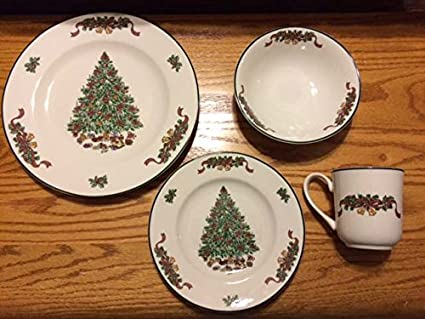 Johnson Brothers 16-Piece Victorian Christmas Dinner Set Multicolored & Amazon.com | Johnson Brothers 16-Piece Victorian Christmas Dinner ...