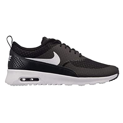 sports shoes 563f9 208bf Nike Wmns Air Max Thea Prm, Baskets Femme, Noir (Noir Blanc