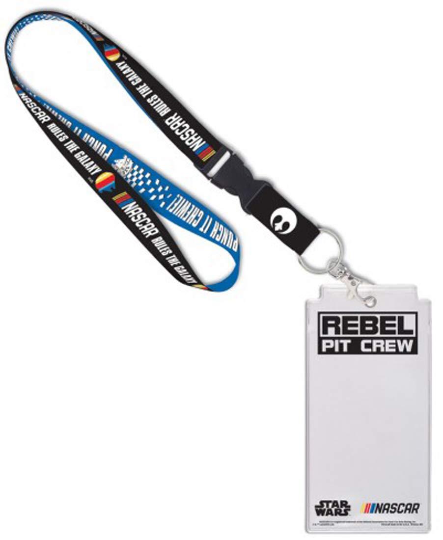 Wincraft NASCAR Star Wars Rebel Pit Crew Premium Lanyard with Credential Holder