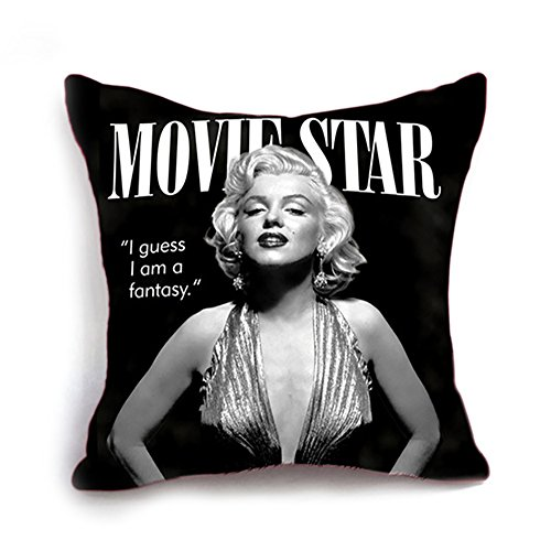 YouYee Linen Cotton Throw Pillow Case Decorative Cushion Cov