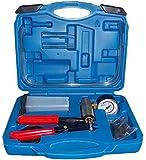 SLPRO® Utensile per lo spurgo dei freni tester pompa a vuoto,  visualizzazione fino a 760mm Hg
