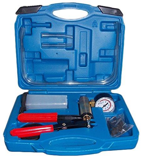 SLPRO - Kit purge de frein avec pompe à vide et testeur de vide - Affichage jusqu'à 760mm KFZTEILESCHNELLVERSAND24
