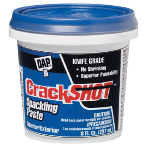 (Dap 12374 Crack Shot Spackling Interior/Exterior, 1/2-Pint)