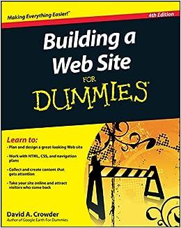 WEBSITE FOR DUMMIES EBOOK
