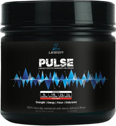 LEGION Pulse Pre-Workout: Smooth Rush énergie. Puissant accroître les performances. Endurance surhumaine.
