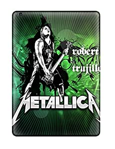 Caronnie EeaRUme2281SNIjV Case Cover Ipad Air Protective Case Metallica