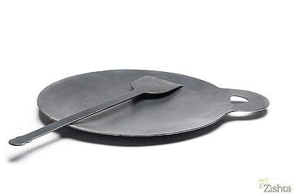 Dhavesai Dosa Kallu/Dosa Tawa ( Iron ) ( Weight 1 Kg ),Pack Of 1