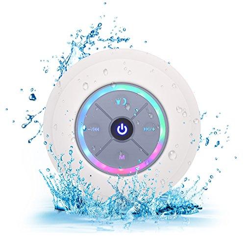 Elitehood Shower Speaker Bluetooth 4.0 Wireless Speaker Waterproof Mini...