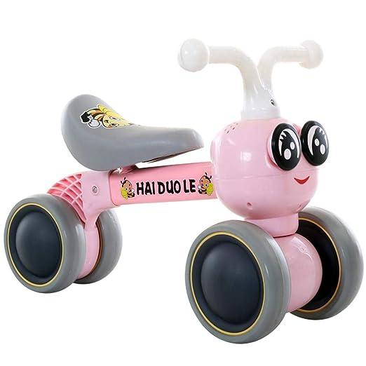 WWWNYY Scooter para niños Quad Quad, Andador 1-3 años sin Tobillo ...