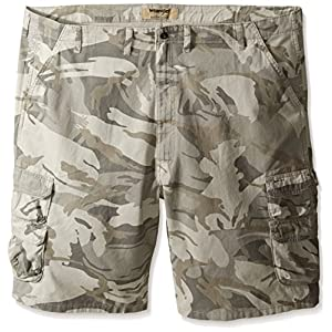 Wrangler Authentics Men's Big & Tall Premium Twill Cargo Short