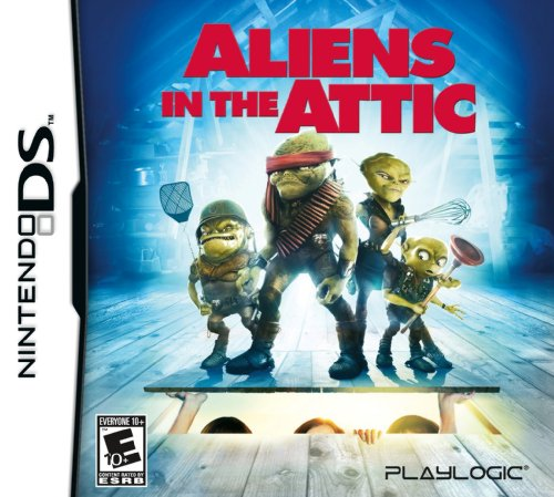 Aliens in the Attic - Nintendo DS