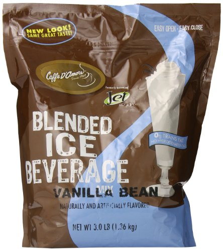 (Jet Blended Ice Coffee, Vanilla Bean, 3)