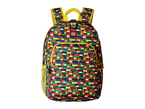 - LEGO Unisex Brick Wall Heritage Classic Backpack Assorted One Size