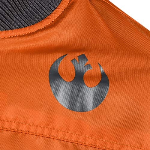 Musterbrand Star Wars Men Jacket Rebel Pilot Orange 3XL