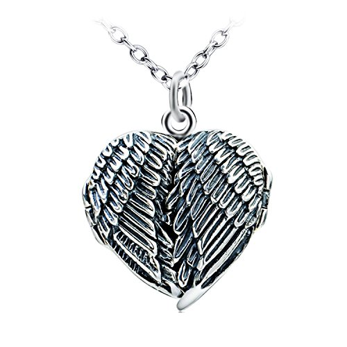 MMC Wing of Angle Silver Pendants Necklaces