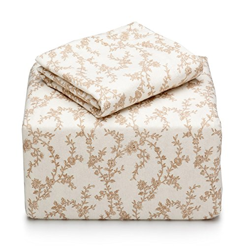(Laura Ashley Victoria Sheet Set, Queen, Taupe)