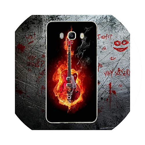 The Most Fashionable for Samsung Galaxy A3 A5 A7 J1 J2 J3 J5 J7 Coque Shell  Soft TPU Cover Bass Guitar Strings Music Guitares Instrument,Picture 5,for
